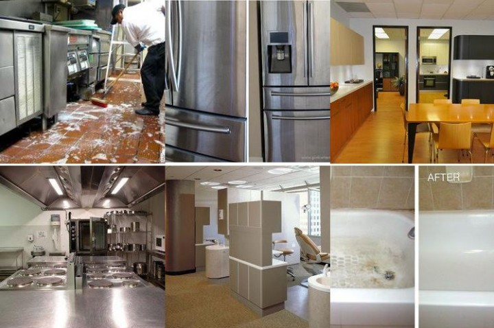 Cleaning Service Commercial House